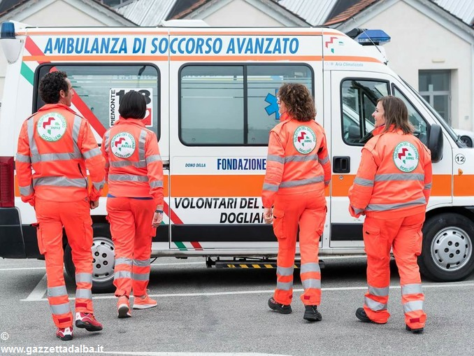 Volontari soccorso dogliani