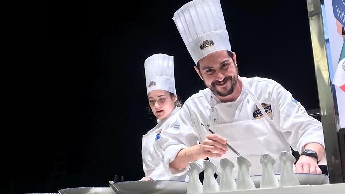 """Marco Acquaroli trionfa al concorso internazionale """"Cocinando con trufa"""""""