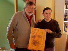 Giovanni Botta, una Bic e una tavola di legno per la magia di un ritratto 2