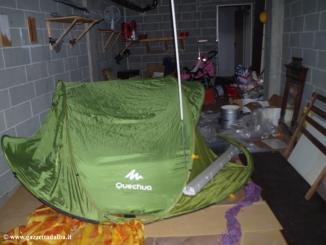Piana Biglini: case e garages occupati da senzatetto e tossici  in via Garelli 6
