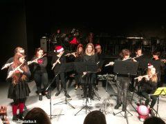 Una festa di note per il concerto di Natale della media Pertini 12