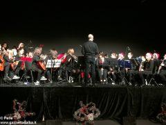 Una festa di note per il concerto di Natale della media Pertini 14