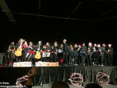 Una festa di note per il concerto di Natale della media Pertini 16