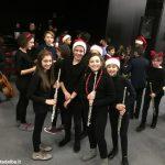 Una festa di note per il concerto di Natale della media Pertini