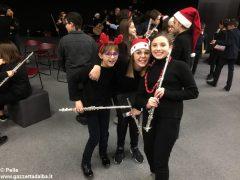 Una festa di note per il concerto di Natale della media Pertini 3