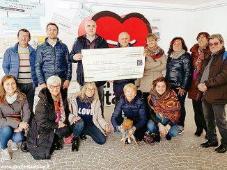Donati diecimila euro ai terremotati di Visso