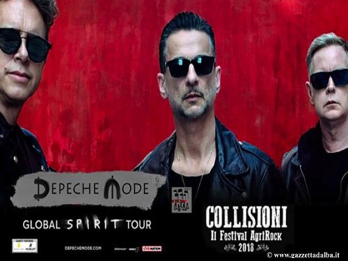 Collisioni: i Depeche Mode primi ospiti della decima edizione del festival