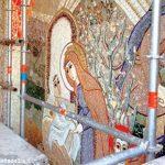 250 metri quadrati di mosaici realizzati a Madonna dei fiori