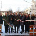 Alba: inaugurata la pista di pattinaggio in piazza Pertinace