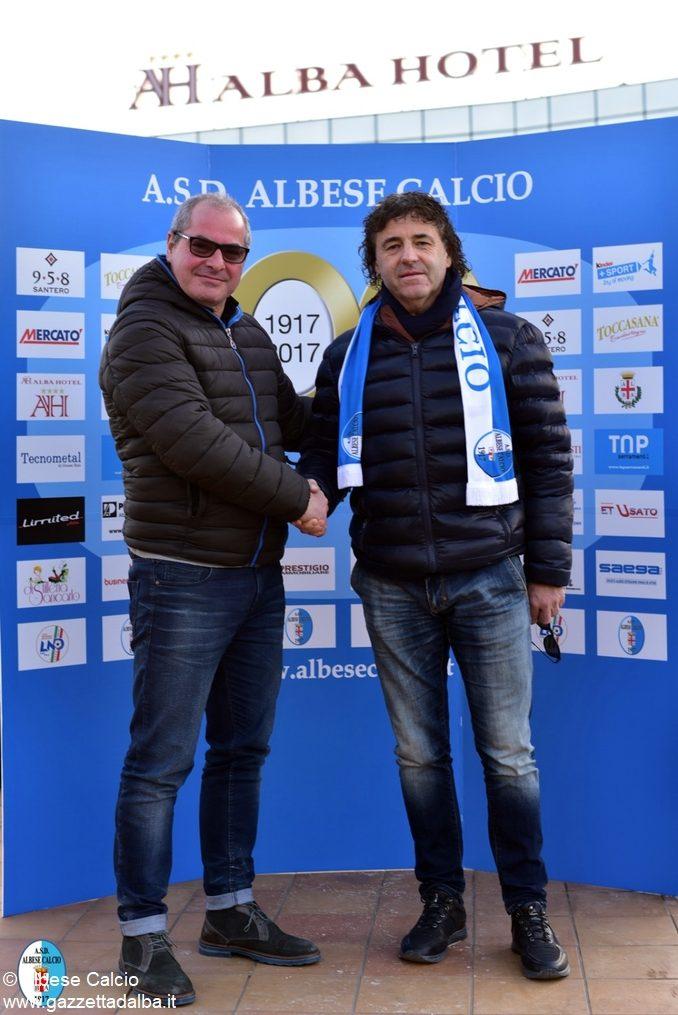 Giancarlo Rosso torna sulla panchina dell'Albese