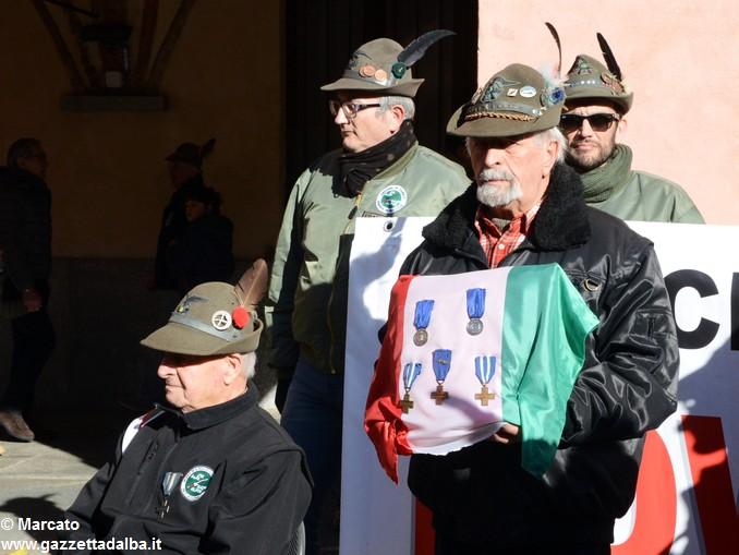 Alpini Alba ricordano la ritirata di Russia (1)