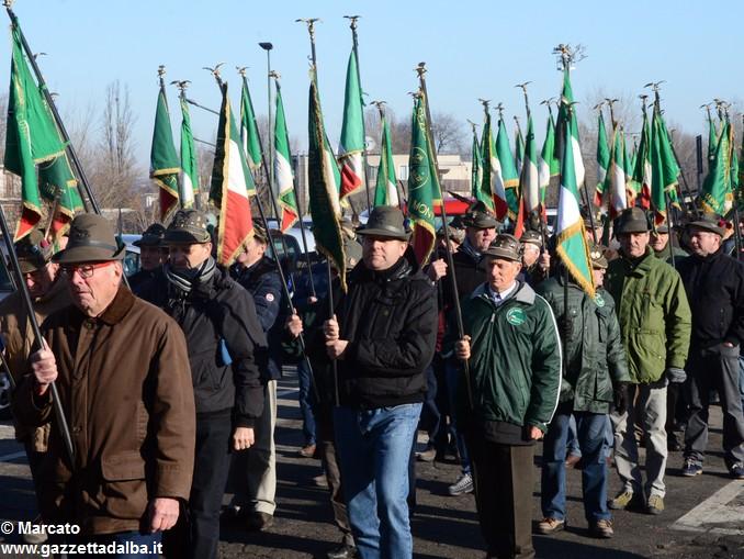 Alpini Alba ricordano la ritirata di Russia (10)