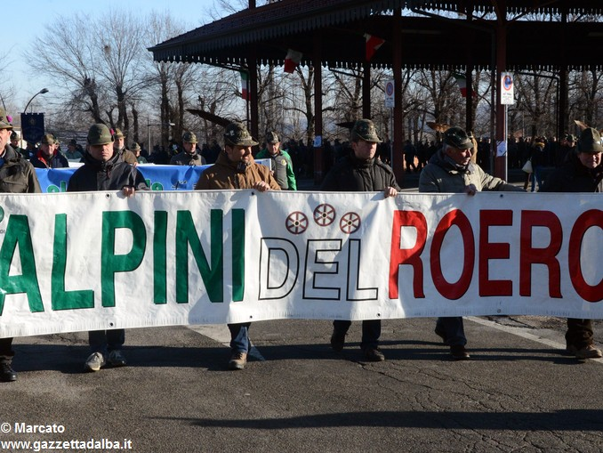 Alpini Alba ricordano la ritirata di Russia (12)