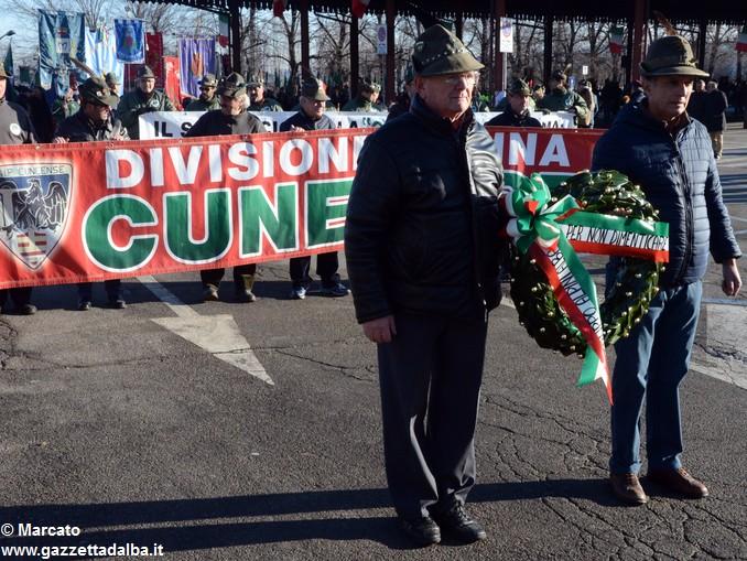 Alpini Alba ricordano la ritirata di Russia (2)