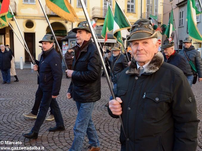 Alpini Alba ricordano la ritirata di Russia (34)