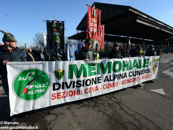 Alpini Alba ricordano la ritirata di Russia (6)