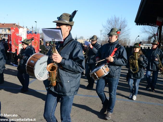 Alpini Alba ricordano la ritirata di Russia (7)