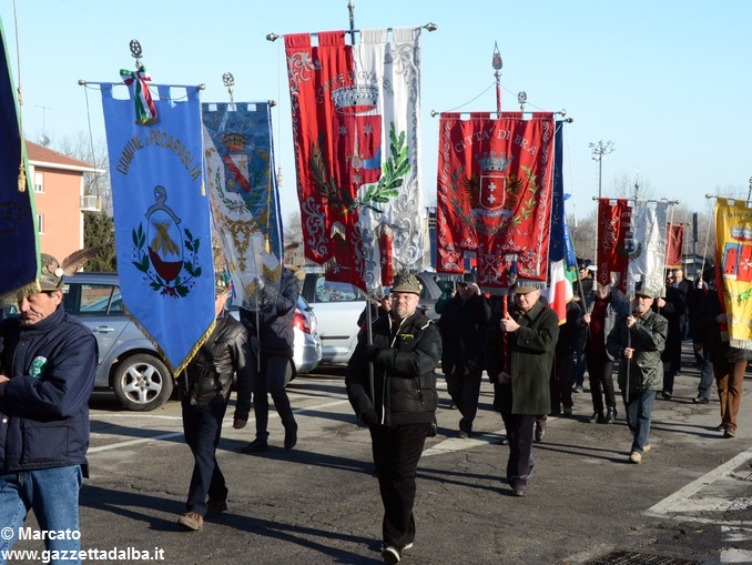 Alpini Alba ricordano la ritirata di Russia (8)