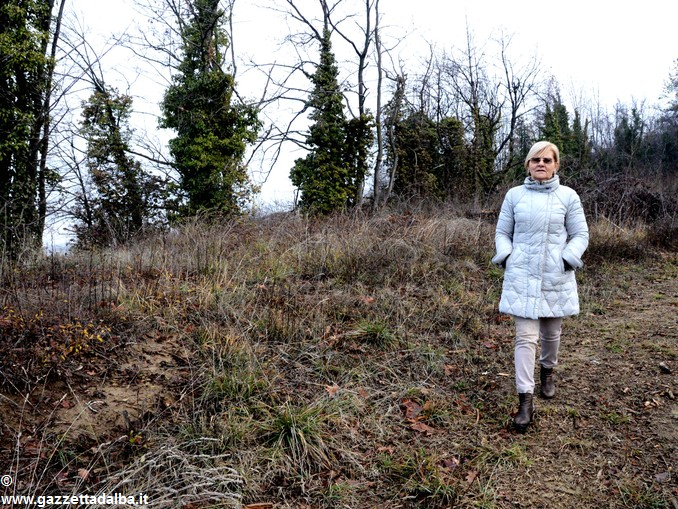 Carla Bonino e la collina bosco – 3