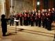 Il coro polifonico in un concerto spirituale di buon anno a Rodello