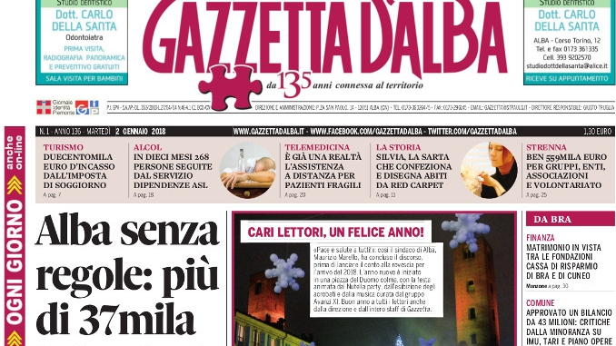 La copertina di Gazzetta in edicola mercoledì 3 gennaio