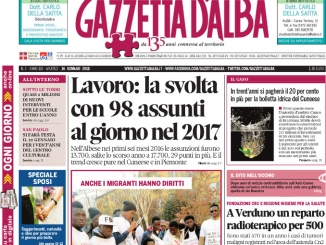 La copertina di Gazzetta in edicola martedì 16 gennaio