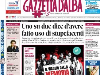 La copertina di Gazzetta in edicola martedì 23 gennaio