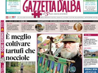 La copertina di Gazzetta in edicola martedì  30 gennaio