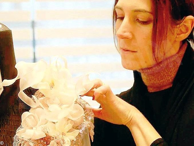 Silvia, la sarta-stilista montatese,  che confeziona abiti da red carpet 1