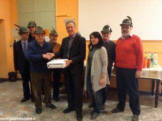 Doni dal gruppo Alpini braidesi per gli studenti dei due istituti comprensivi