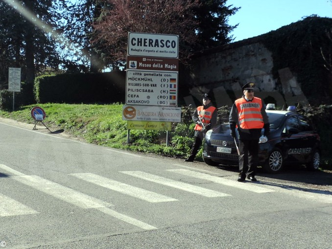 carabinieri cherasco