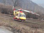 Incidente sul lavoro in corso Asti, interviene l'elisoccorso