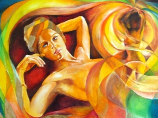 Donne & sirene. A Benevagienna Franco Blandini espone  da Walter Blengini