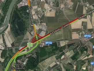 Ennesimo incidente sulla Asti-Cuneo. Lunghe code in direzione di Alba.