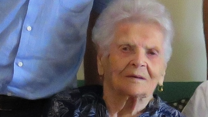 Scomparsa a 105 anni Paola Dogliani, la nonna di tutti i cheraschesi