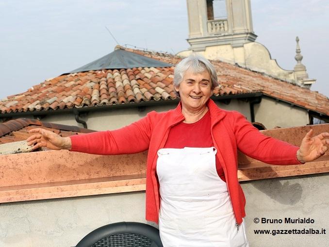 La cuoca Gemma Boeri in onda a Striscia la Notizia venerdì 12 gennaio 1