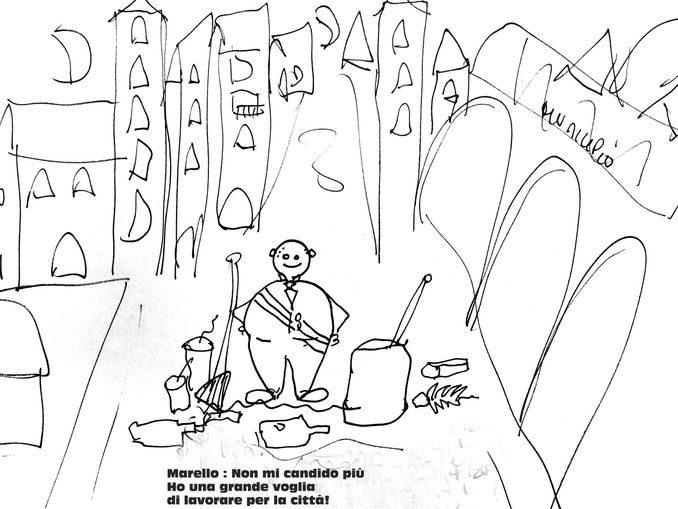Una vignetta di Bruno Murialdo