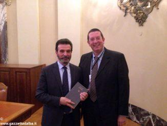 Il banchiere Alberto Rizzo ospite a Milano della Banca d'Italia