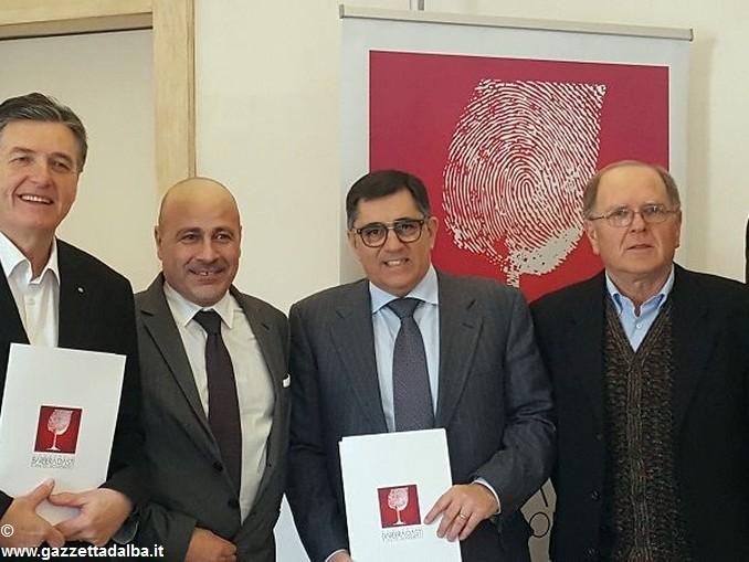 Foto conferenza Consorzio Barbera e Vini del Monferrato