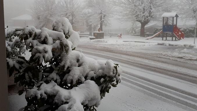 Cadono i primi fiocchi di neve su Langhe e Roero