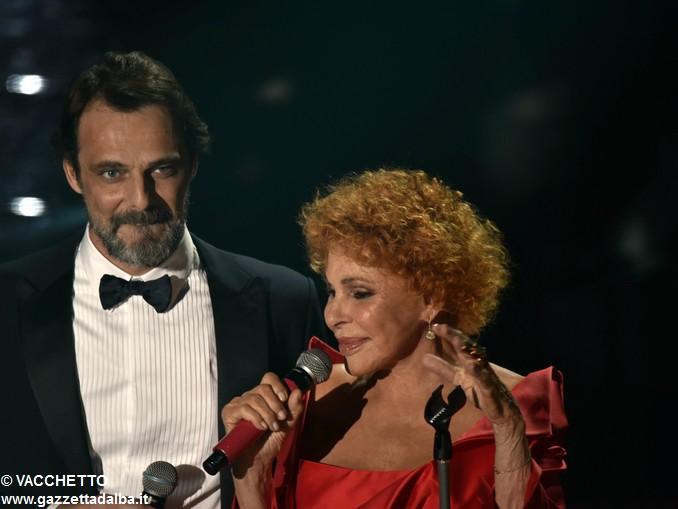 Ornella Vanoni e Alessandro Preziosi