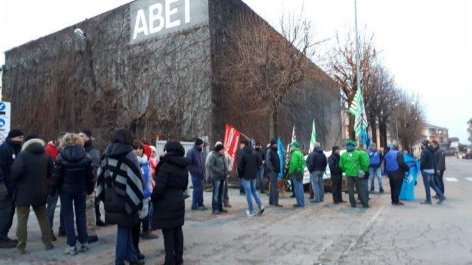 Presidio dei lavoratori di Abet, Arpa, Michelin e Mondo