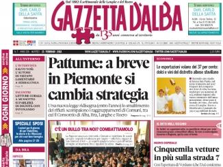 La copertina di Gazzetta in edicola martedì 13 febbraio