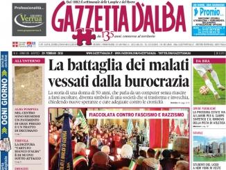 La copertina di Gazzetta in edicola martedì 20 febbraio