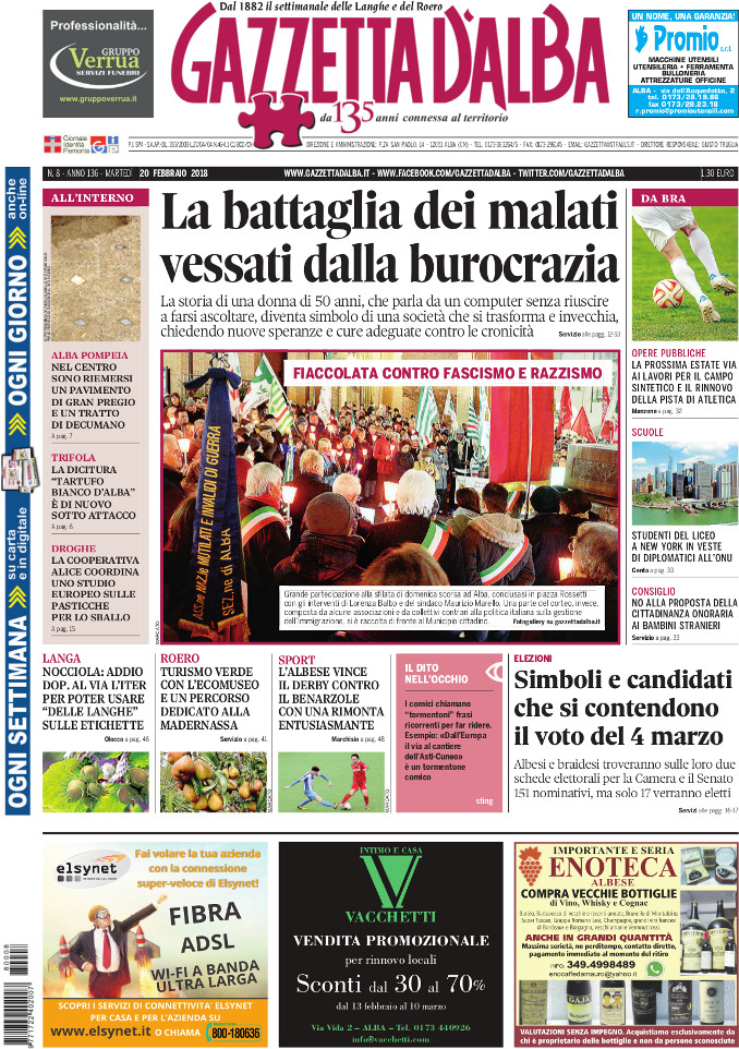 Prima_pagina_Gazzetta_dAlba_n_08-2018