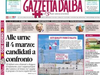 La copertina di Gazzetta in edicola martedì 27 febbraio