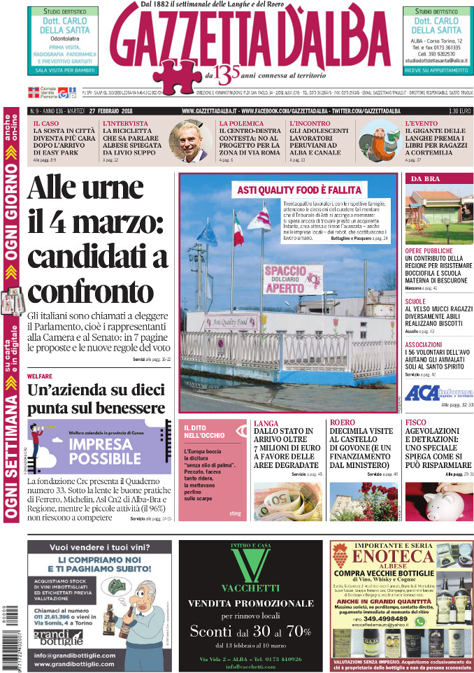 Prima_pagina_Gazzetta_dAlba_n_09-2018