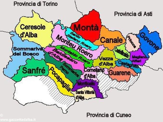Roero Cartina