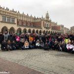 Si sta concludendo il viaggio della memoria dei liceali albesi tra il ghetto ebraico e Auschwitz
