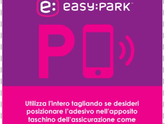 tagliando easypark